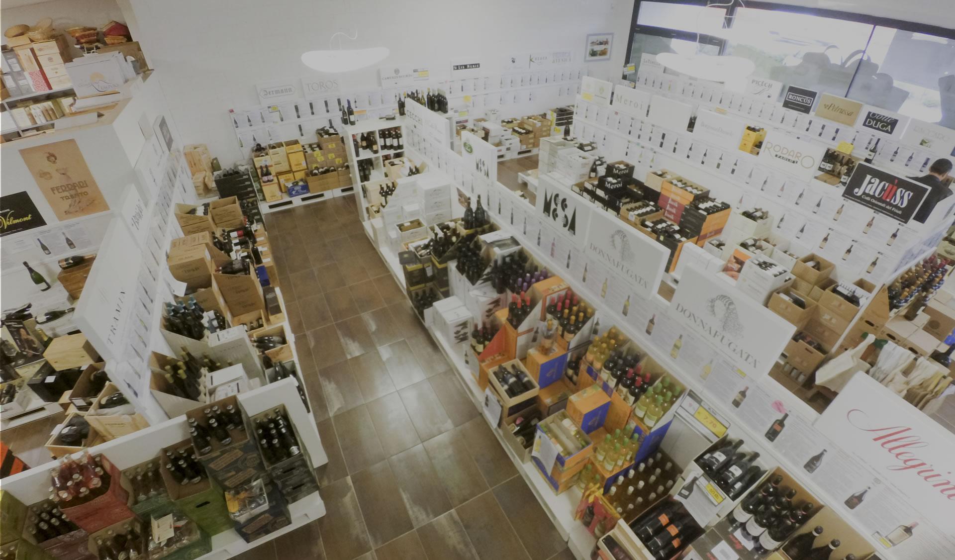 Distribuzione di vino